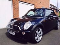 2007 Mini Convertible * 1.6 L Petrol* Low Miles* Lady Owner* Not Fiat 500 - Corsa -Swift