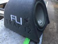 FLI Active 12inch Bassbox Subwoofer NOT Alpine Sony Vibe