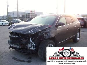 2014 Buick Enclave 4X4 V6 3.6L 7 PASSAGERS  CUIR GR EELCT SIEGE