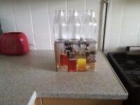 Circleware milk bottle tumblers (16 oz)