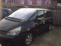 LEFT HAND DRIVE RENAULT ESPACE, DRIVES PERFECTLY, AUTOMATIC TRANSMISSION WITH FULL OPTIONS...CALL ME