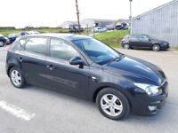 2009 HYUNDAI 130 COMFORT CRDI 5 DOOR HATCHBACK BLACK
