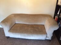 Chesterfield Chaise Long Sofa - ideal restoration project