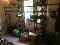 Pro disco light rig and various lights