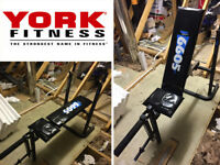 YORK FITNESS Weights Bench. Bench Press. Adjustable, Exercise, Bodybuilding.