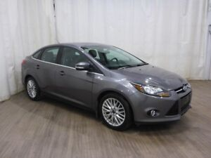 2013 Ford Focus Titanium Leather Bluetooth Sunroof