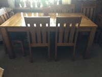 Great table and 6 chairs for sale!!!
