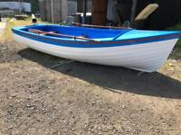 16ft open fishing boat and trailer