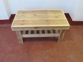 Hand made up cycled coffee table