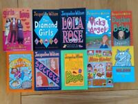 Jacqueline Wilson Books. Collection of 10 Paperback Books.