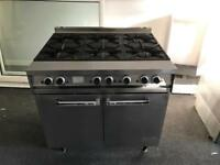 Falcon Dominator 6 burner commercial cooker
