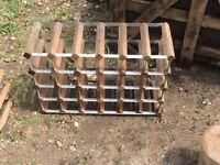 Two wine racks, £10 each