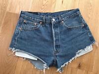 Levi's 501 vintage shorts W32