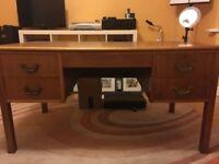 4 drawer wooden desk