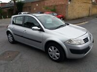 RENAULT MEGANE AUTOMATIC 2005 YEAR 117000 MILE HISTORY MOT TILL 24/2/18 3 MONTHS WARRANTY HPI CLEAR