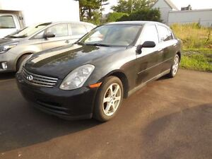 2004 Infiniti G35X Base  All Wheel Drive
