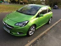 Vauxhall Corsa SRI VX-Line 1.2 PETROL 2015 With Excellent Condition 2 Keys Only 18000 Miles