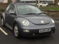 VOLKSWAGEN BEETLE 2004 (53 REG)*£999*LONG MOT*HEATED SEATS*CHEAP CAR TO RUN*PX WELCOME*DELIVERY