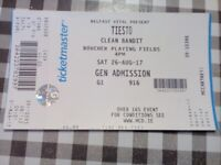 Tennants Vital ticket for sale for Tiesto featuring Clean Bandit and other artists