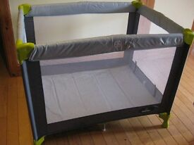 Babystart Travel Cot **ideal for visiting tots over the Christmas period**