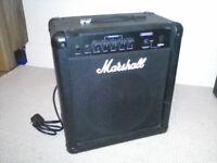 Marshall B25 MK.II Bass Combo Amplifier Amp