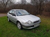 TOYOTA COROLLA 1.6 GS SERVICE HISTORY LOW MILAGE
