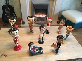 Betty Boop figurine collecti9n