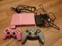 pink slim playstation 2