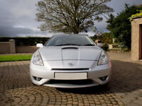 "2005 Toyota Celica 1.8 VVTI, 6 Speed, Full Leather, 19"" Alloys, Climate, Sun roof & Privacy glass."