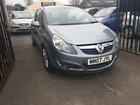 Vauxhall Corsa 1.3 Diesel 3 Door Hatchback Manual Silver 2007 Lovely Car 12 Months MOT