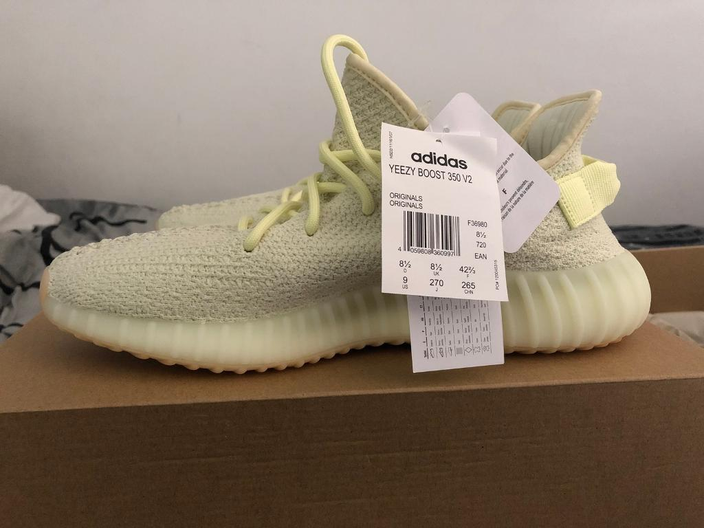 7abbfeb1dafb2 Yeezy 350 V2 Butter Size 8.5 (with original receipt and tags)