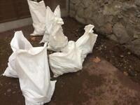 Several bags of free hardcore tarmac rubble