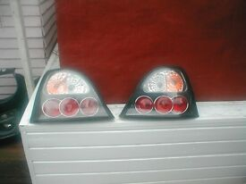 mg zr/Rover 25 lexus style rear lights black/chrome