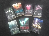 Joblot of J.D.ROBB paperback books
