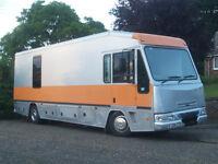 DAF LF45 RV / Motorhome - Sleeps 4-5, rear bedroom, U-shaped seating, heating and air con