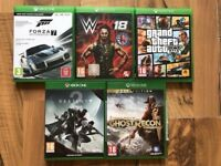xbox one games , as new ! £20 each ! price stands , no offers !