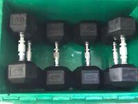 Hex Dumbells - 2 x 25Kg + 2 x 18Kg + 2 x 12Kg
