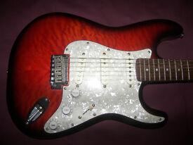 Fender Squier Modified Stratocaster Electric Guitar + Gig Bag.