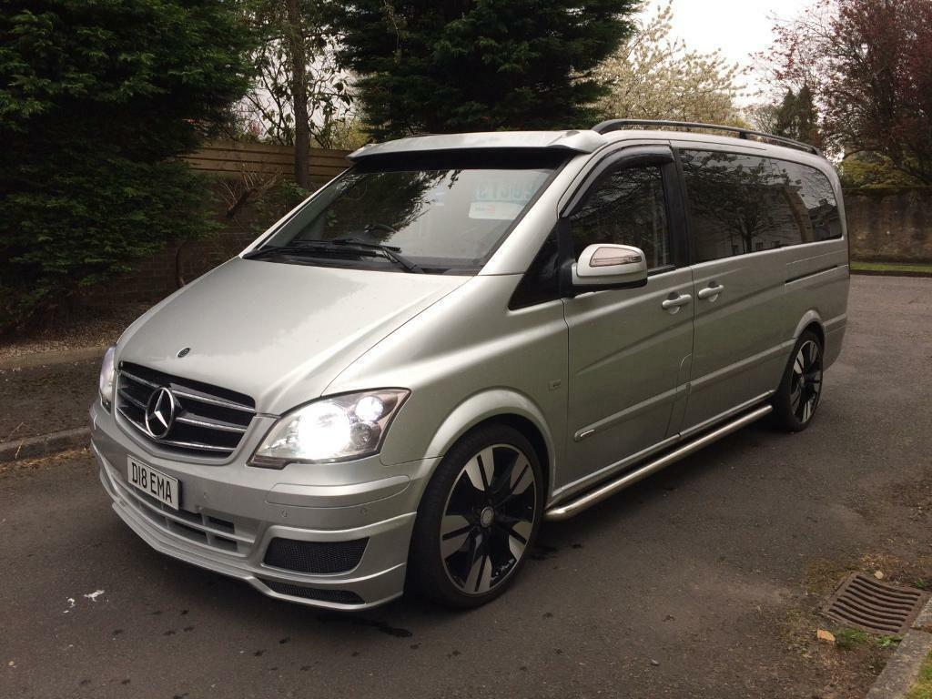 Mercedes vito 6 seater 2 2 diesel sport mini bus 08 reg for 2 seater mercedes benz