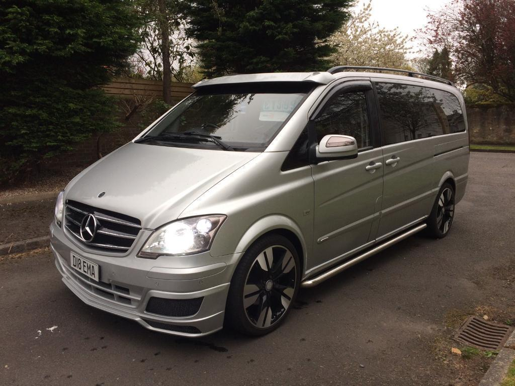 Mercedes vito 6 seater 2 2 diesel sport mini bus 08 reg for Mercedes benz 2 seater