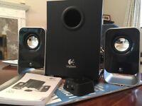 Logitech LS21 multimedia speakers