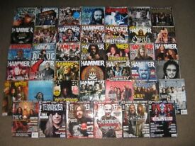 Metal Hammer & Terrorizer Magazines x43 Job Lot. Iron Maiden. Metallica. Sabbath, Guns n Roses, etc
