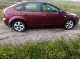 Ford Focus 2005 1.6 Petrol Mot August 2019 drives excellent sell or swap or px for van