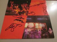 THE EAGLES HAND SIGNED AUTOGRAPHS WITH CERTIFICATE OF AUTHENTICITY-MUSIC