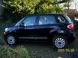Fiat 500L pop star 1.4 - Black