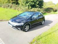 2009 plate Honda Civic Black 5 door 1.8i SE VTEC Low mileage