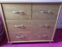 **REDUCED** Kidsmill Montreal Nursery Furniture (wardrobe, chest of drawers and cot)