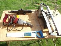 DRILL (WORKING) PLUS TOOLS