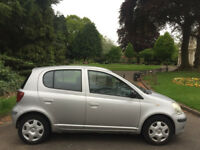TOYOTA YARIS 1.3 VVT-i T3 2004 04 REG SILVER 5 DOORS ***ONE FAMILY OWNED FROM NEW***
