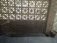 iron gate fence